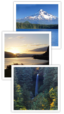 Images along the Columbia River
